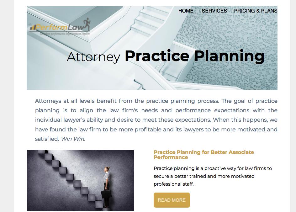 Attorney Practice Planning Newsletter